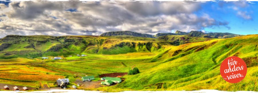 Fotoreisen Island echt schön grün so grün wenn es grünt toll