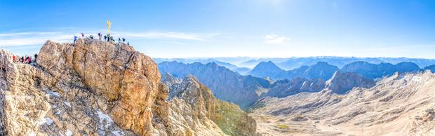 Zugspitze Gipfelpanorama